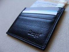 cb0298c19dde 9 Best ULTRA SLIM THIN WALLET MEN CREDIT CARD HOLDER BUSINESS BLACK ...