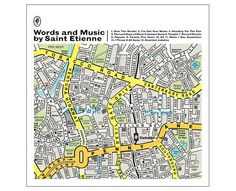 After a seven year hiatus, the arty dance band Saint Etienne are back with a new album. Due out in May, its cover will sport the work of Manchester-based creative studio Dorothy whose work was spotted by the band. The Song Map poster sold on the studio's site has been re-worked to reflect Saint Etienne's musical tastes.
