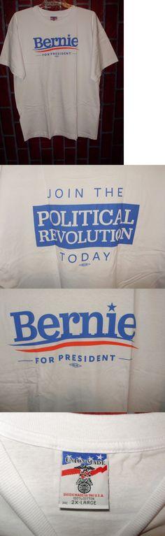 Bernie Sanders: Bernie Sanders For President 2016 T Shirt Join The Political Revolution 2X Large -> BUY IT NOW ONLY: $13.46 on eBay!
