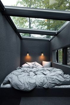 Bedroom in the Vipp Shelter | Vipp.com