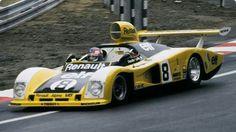 Depailler/Laffite Alpine A442 turbo V6 RENAULT  Le Mans 1978