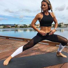 Fashion Womens Yoga Workout Gym Leggings Fitness Sport Trouser Athletic pants PZ