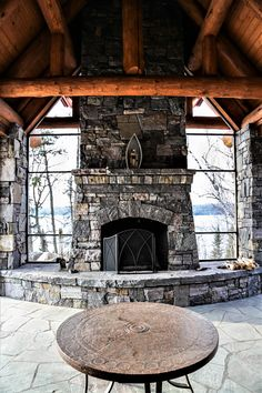 Whether you are a homeowner or a builder our team can turn any vision of custom masonry into reality. Some of our projects include custom stone homes, brick homes, stone fireplaces, and more! Masonry Work, Cabin, House Styles, Home Decor, Decoration Home, Room Decor, Cabins, Cottage, Home Interior Design
