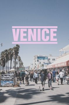 Venice. The land where the sun never stops kissing.