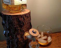 Liquor Dispenser handmade from Ohio hardwoods - New and Improved *Patent Pending*