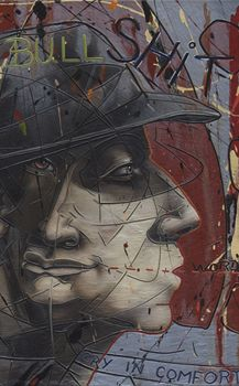Robert Slingsby (detail from The Bear Bull Shit) Artist Art, Portraits, Inspire, Bear, Artists, Detail, Painting, Inspiration, Biblical Inspiration