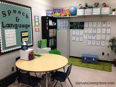 Take a Peek Inside My Speech-Language Therapy Room - Natalie Snyders, SLP