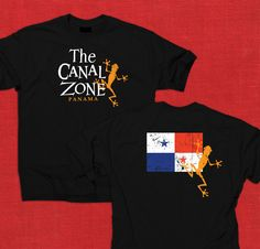 """T-Shirt Art Concept for """"The Canal Zone"""" / Panama Canal Zone Alumni"""
