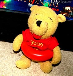 #winnie #thepooh #winniethepooh #sanders #plush #disney @LauryRow   like my page here :: https://www.facebook.com/pages/Disneycollecbell/603653689716325
