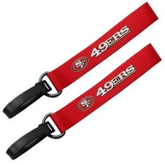 San Francisco 49ers 2-Pack Luggage ID Tags