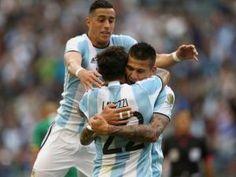 Argentina golea a Bolivia y se instala en cuartos de final de Copa América