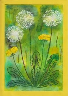 Bildergebnis für kunst klasse wachsmalstifte – Yasmin Fashions – The number … Spring Projects, Spring Crafts, Projects For Kids, Art Projects, Spring Art, Summer Art, Flower Crafts, Flower Art, Ecole Art