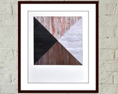 "Geometric Abstract Painting, ""Glasgow Square"" Original Hand Made Acrylic artwork by Australian artist Veronica Lamb abailable now on Etsy #abstractpainting #affordableart"