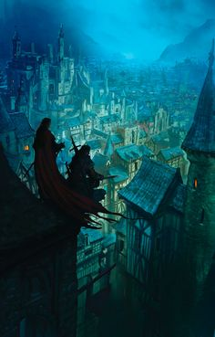Marc Simonetti. The long flowing tattered red cape, reminecent of Vincent Valentine, maybe.