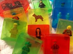 Elite Party Package: Five Save the Lego Guy Soaps- Gift on Etsy, $22.00