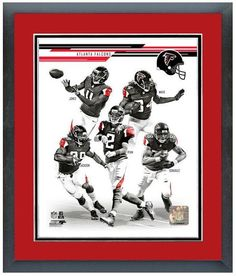 "2013 Atlanta Falcons - 11"" x 14"" Framed & Matted Team Composite Photo"