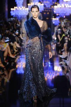 Défile Elie Saab Haute couture Automne-hiver 2014-2015 - Look 12