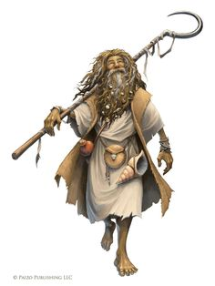 "Character art for Pathfinder Adventure Path #98 ""Turn of the Torrent""."