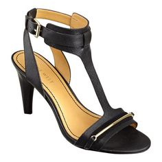 186ac05730eb7d T-Strap single sole sandal with adjustable ankle closure. Stacked 3