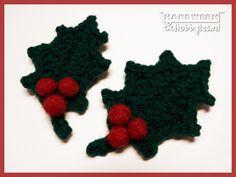 Hulst Diy Crochet, Crochet Wreath, Crochet Decoration, All Holidays, Christmas Diy, Crochet Necklace, Diy Crafts, Annie, Winter