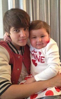 Justin and beautiful angel Avalanna. RIP Avalanna. We love you.