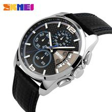 {Like and Share if you want this  Mens Watches Top Brand Luxury SKMEI Men Military Sport Wrist Watch Chronograph Leather Quartz Clock Man Watch Relogio Masculino|    All new arriving Mens Watches Top Brand Luxury SKMEI Men Military Sport Wrist Watch Chronograph Leather Quartz Clock Man Watch Relogio Masculino now at a discounted price $US $26.58 with free shipping  you\\'ll find this amazing product together with a lot more at our estore      Grab it right now on this site…