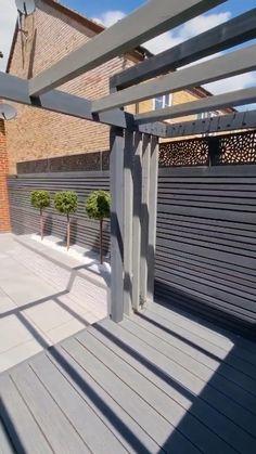 Back Garden Design, Small Backyard Design, Modern Garden Design, Modern Backyard, Backyard Patio Designs, Small Backyard Landscaping, Diy Patio, Modern Balcony, Budget Patio
