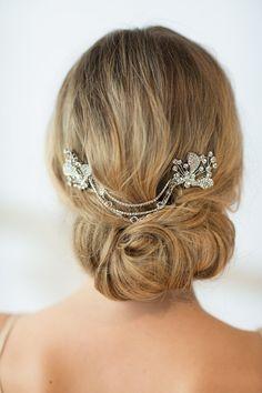Wedding Haircomb Bridal Hairpins Wedding Hair by PowderBlueBijoux