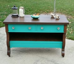 three drawer dresser makeover, painted furniture