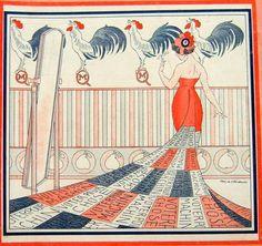 Markous. La Robe Neuve de Marianne. La Vie Parisienne, 23 Avril 1910. [Pinned 14-vii-2015]