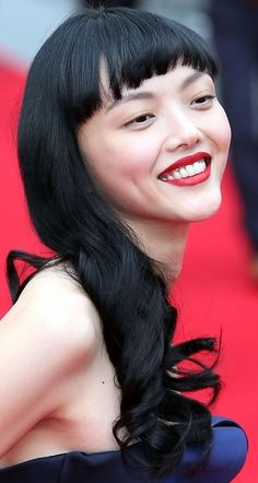 Rila Fukushima's Glam Side Sweep