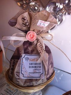 Candy in natural paper bag. Turkish Delight, Hard Candy, Confectionery, Advertising, Natural, Paper, Bag, Purse, Pocket