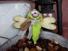 E-Pattern  Flirty Little Flitterby Dragonfly por GingerberryCreek
