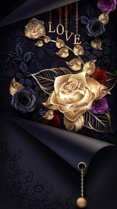 Purple Flowers Wallpaper, Rose Gold Wallpaper, Bling Wallpaper, Flower Background Wallpaper, Butterfly Wallpaper, Wallpaper Backgrounds, Cellphone Wallpaper, Iphone Wallpaper, Jesus And Mary Pictures