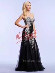 Strapless Mac Duggal Mermaid Prom Gown 81901M