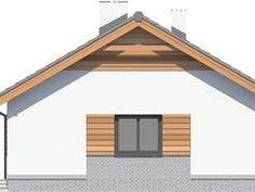 DOM.PL™ - Projekt domu ARP TRACJA 2 CE - DOM AP2-14 - gotowy koszt budowy Home Fashion, Gazebo, House Plans, Outdoor Structures, Cabin, Mirror, House Styles, Furniture, Home Decor