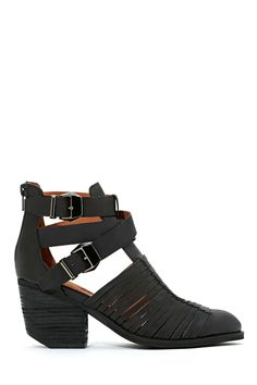 Jeffrey Campbell Stillwell Booties - Black | Shop Jeffrey Campbell at Nasty Gal