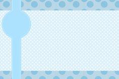 Montando minha festa: Poá azul - Batizado sem o anjinho
