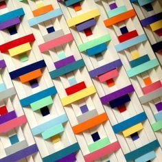 """Confluence"" (woven paper, 60cmx42cm)"