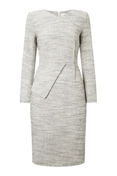 The Fold | thefoldlondon.com eaton dress silver tweed