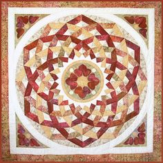 Norah McMeeking - Bella Bella Quilts: Based on floor patterns in parquet and marble. Gorgeous.