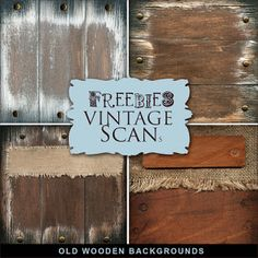 Far Far Hill - Free database of digital illustrations and papers: Freebies Kit of Old Wooden Backgrounds