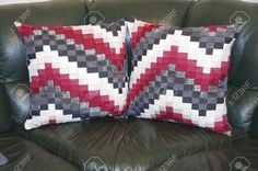40 Awesome handmade patchwork cushions images