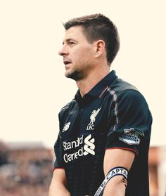 The end of an era. A Liverbird upon my chest. And a scar upon my heart. Liverpool Football Club, Liverpool Fc, Steven Gerrad, Liverpool Legends, This Is Anfield, European Soccer, Fc Chelsea, Ac Milan, Tottenham Hotspur