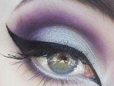 Silver & purple