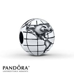 Design your own photo charms compatible with your pandora bracelets. Pandora Clip Globe Sterling Silver represents Mike to the fullest!