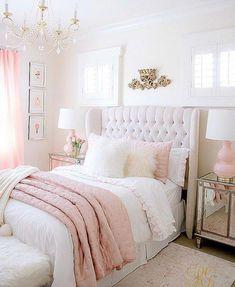 Cute Bedroom Ideas Girls That Will Make a Beautiful Dream – Pandriva – bedroom decor diy – einrichtungsideen wohnzimmer Cute Bedroom Ideas, Room Ideas Bedroom, Trendy Bedroom, Home Decor Bedroom, Bed Room, Bedroom Furniture, Furniture Makeover, Rustic Furniture, Shabby Bedroom