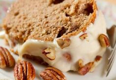 Gâteau au beurre et aux pacanes #dessert #noix