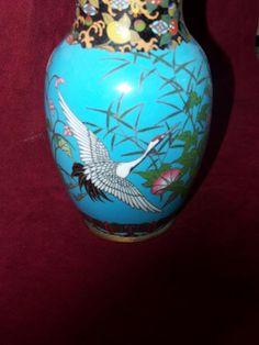 Lovely Japanese Cloisonne Vase