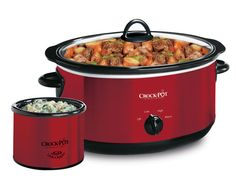 Crock-Pot® Manual Slow Cooker with Little Dipper® Warmer -- Classic, manual controls create delicious meals and simplify your day.    Classic, manual controls create delicious meals and simplify your day. #CrockPotBrand #SlowCooker